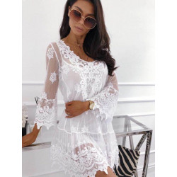 blusa / vestido ibicenco...