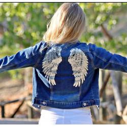 chaqueta vaquera alas angel...