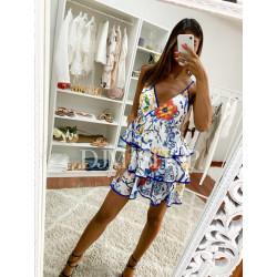 Vestido corto modelo Floral